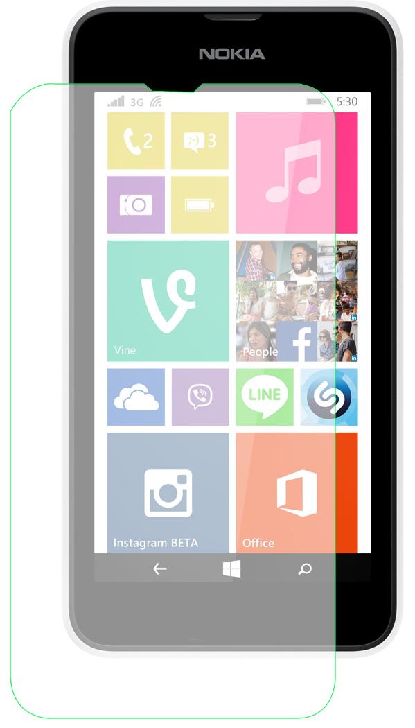 Film protecteur ultra resistant Everglade en verre trempé pour Nokia Lumia 530 pour Nokia