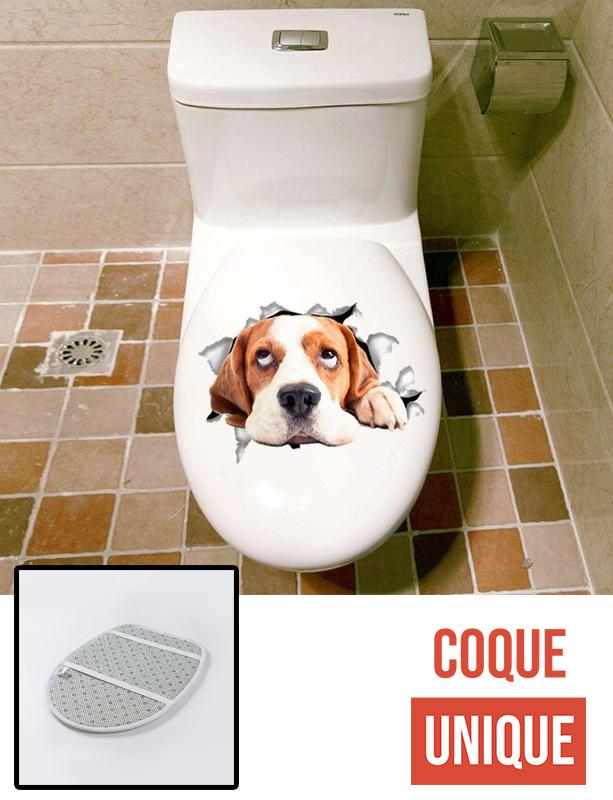Housse de toilette - Décoration abattant wc