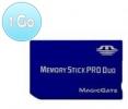 Memory Stick Pro Duo - 1 Go
