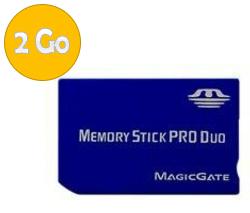 acheter Memory Stick Pro Duo - 2 Go