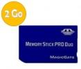 Memory Stick Pro Duo - 2 Go