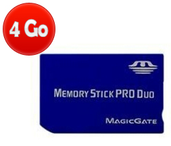 acheter Memory Stick Pro Duo - 4 Go