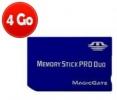 Memory Stick Pro Duo - 4 Go
