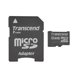 acheter Micro SDHC 32 Go avec adaptateur SD