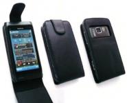 Housse Nokia N8 a clapet avec fermeture aimantee