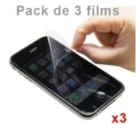 Pack de 3 Films de protection Anti-Rayures Iphone 3G / 3GS