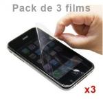 Pack de 3 Films de protection Anti-Rayures Iphone 3G / 3GS