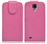 Housse Samsung Galaxy S4 i9500 rose avec rabat pour Samsung