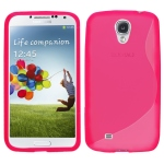 silicone Samsung Galaxy S4 i9500 rose pour Samsung