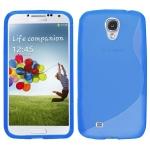silicone Samsung Galaxy S4 i9500 bleu pour Samsung
