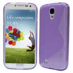 Silicone Samsung Galaxy S4 i9500 violet pour Samsung
