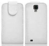 Housse Samsung Galaxy S4 i9500 Blanc avec rabat pour Samsung