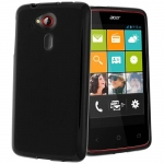 Black S-Line Case for Acer Liquid Z200 for Acer