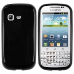 accessory Black S-Line Case for Samsung Galaxy Chat B5330