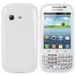 accessory White S-Line Case for Samsung Galaxy Chat B5330