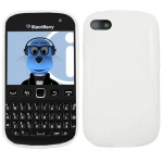 Silicone BlackBerry 9720 Blanche pour Blackberry