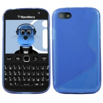 Silicone BlackBerry 9720 Bleu