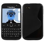 Silicone BlackBerry 9720 Noir pour Blackberry
