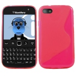 Silicone BlackBerry 9720 Rose pour Blackberry