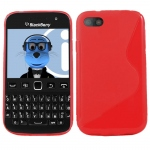 Silicone BlackBerry 9720 Rouge pour Blackberry