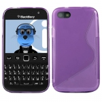 Silicone BlackBerry 9720 Violet pour Blackberry
