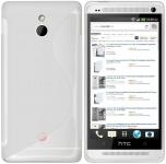 White S-Line Case for HTC One Mini