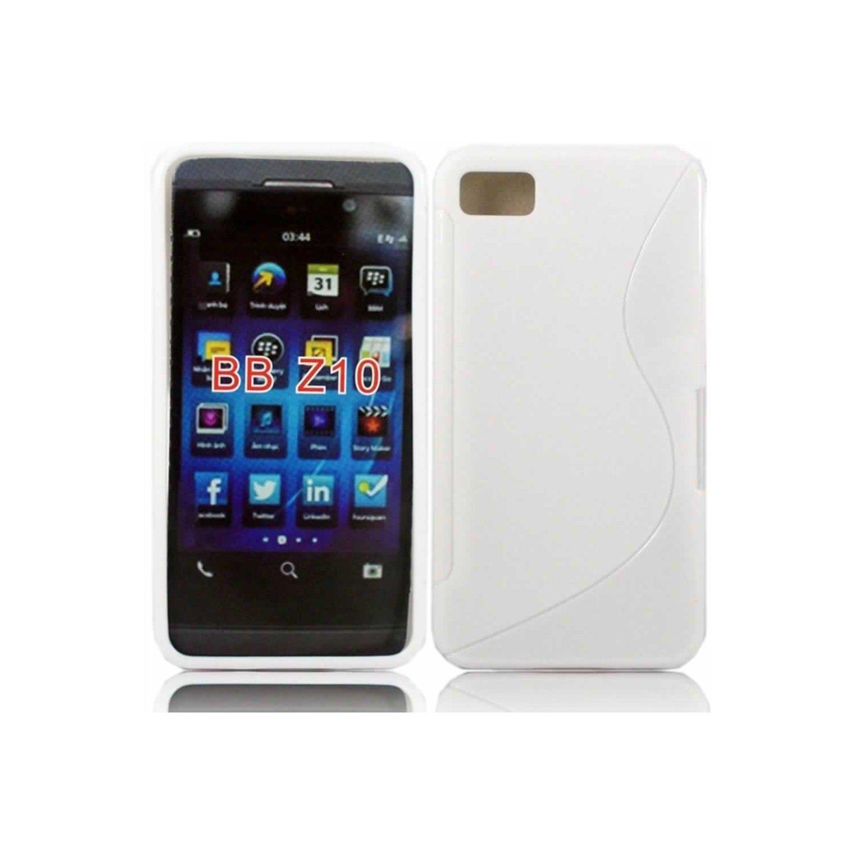 Silicone blackberry z10 blanc pour blackberry z10 for Photo ecran blackberry z10