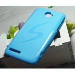 Blue S-Line Case for Alcatel One Touch Scribe Easy 8000D