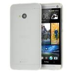 Silicone HTC One M9 Blanche