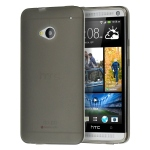 Silicone HTC One M9 Noir