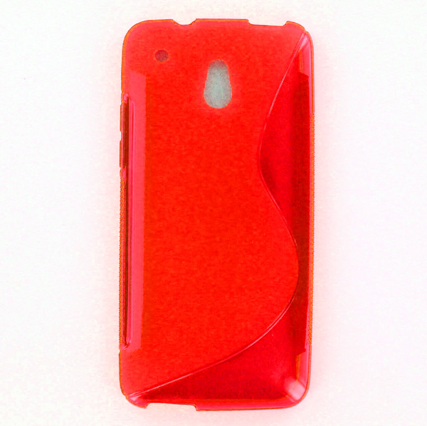 acheter Silicone HTC One Mini Rouge