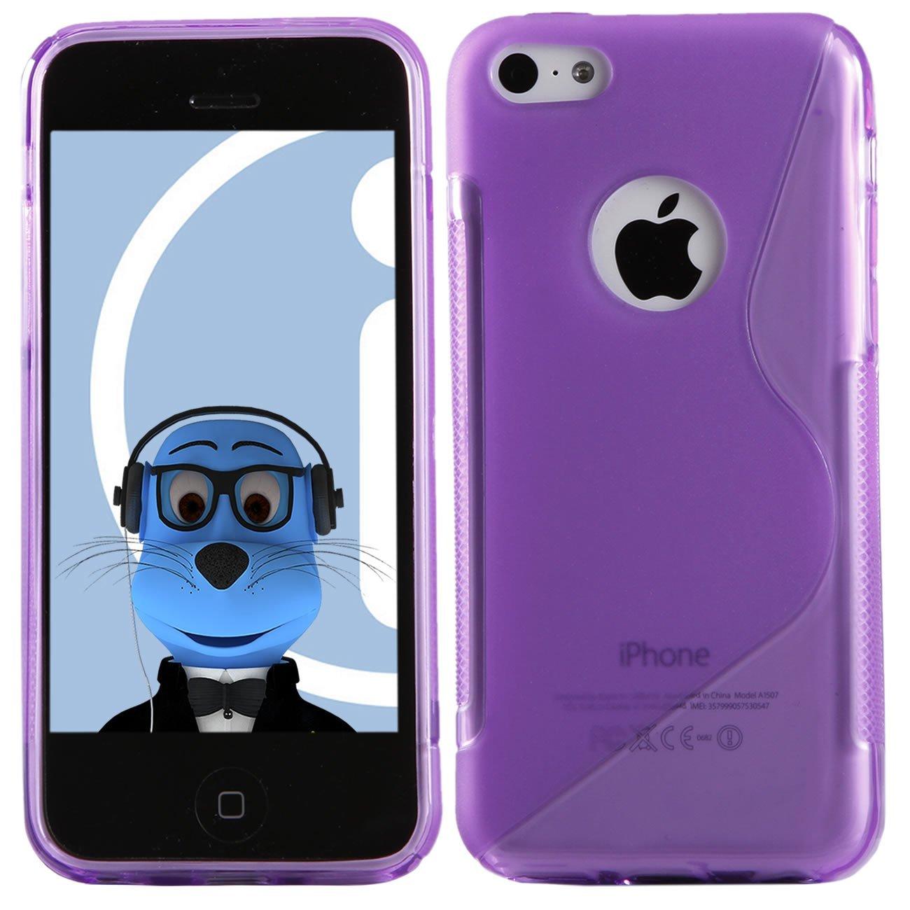 silicone iphone 5c violet pour iphone 5. Black Bedroom Furniture Sets. Home Design Ideas