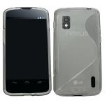 Silicone LG Nexus 4 Blanche