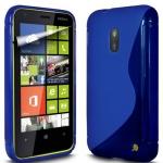 Silicone Nokia Lumia 620 Bleu pour Nokia