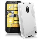Silicone Nokia Lumia 620 Blanc pour Nokia