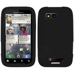 acheter Silicone Noir Motorola Defy