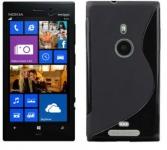 Silicone Nokia Lumia 925 Noir