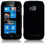 Silicone Nokia Lumia 710 Noir