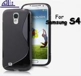 silicone Samsung Galaxy S4 i9500 noir pour Samsung