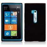 Silicone Nokia Lumia 900 Noir pour Nokia