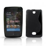 Silicone Nokia Asha 501 Noir pour Nokia