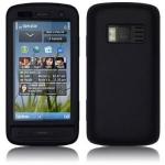 Silicone Nokia C6-01 Noir