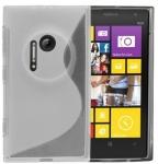Silicone Nokia Lumia 1020 Blanche pour Nokia