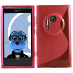 Silicone Nokia Lumia 1020 Rouge pour Nokia