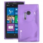 Silicone Nokia Lumia 1020 Violet pour Nokia