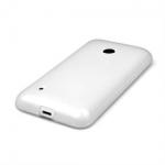 Silicone Nokia Lumia 530 Blanche pour Nokia