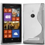 Silicone Nokia Lumia 925 Blanche