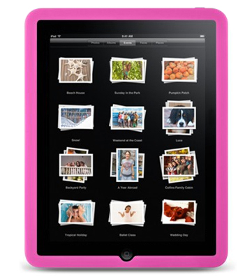 acheter Protection Silicone Rose pour Ipad