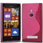 Silicone Nokia Lumia 925 Rose pour Nokia