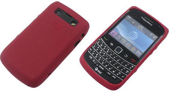 acheter Coque Silicone Rouge Blackberry 9700 / 9780